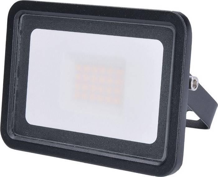 LED venkovní reflektor Eco, 20W, 1300lm, 4000K, černý WM-20W-K Solight