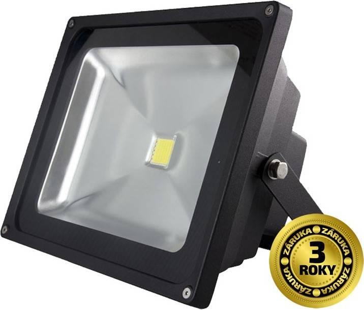 Reflektor Solight LED WM-30W-E venkovní, 30W, 2400lm, AC 230V, černá