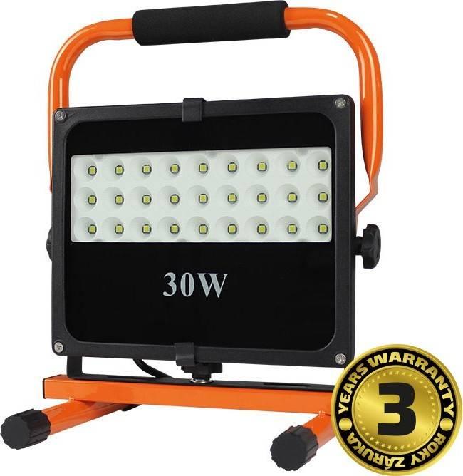 Solight LED venkovní reflektor se stojanem, 30W, 2550lm, 5000K, kabel se zástrčkou, AC 230V + dárek k nákupu