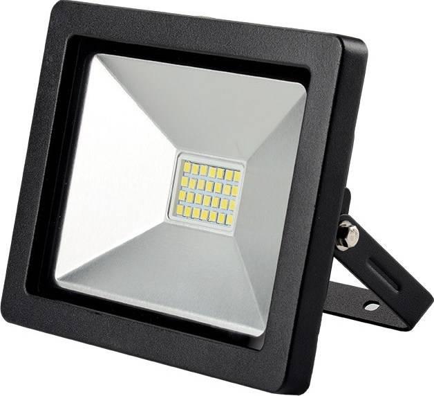 Reflektor Solight LED WM-30W-G venkovní reflektor SLIM, 30W, 2100lm, 3000K, černý