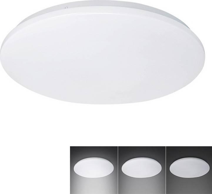 LED stropní světlo, 3-stupňové stmívání, 18W, 1260lm, 4000K, kulaté, 33cm WO726 Solight