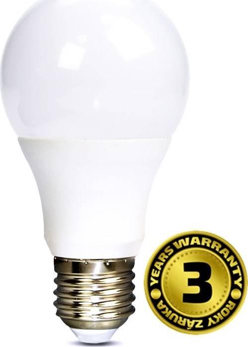 Žárovka LED WZ504 klasický tvar, 7W, E27, 3000K, 270°, 520lm, teplá bílá WZ504 Solight
