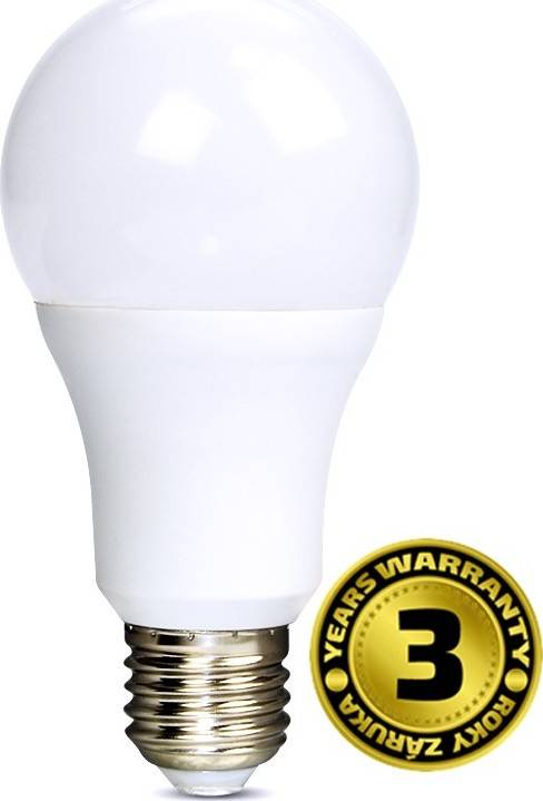 Žárovka LED WZ507A 12W, E27, 3000K, 270°, 1010lm, teplá bílá WZ507A Solight