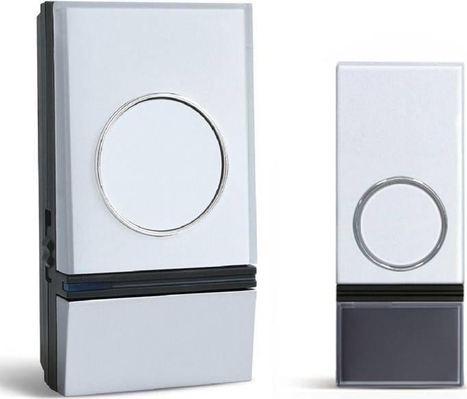 bezdrátový zvonek, do zásuvky, 200m, bílý, learning code 1L28 Solight