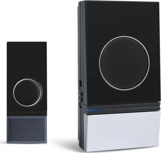 bezdrátový zvonek, do zásuvky, 200m, černý, learning code 1L29 Solight