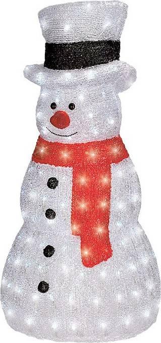 LED sněhulák venkovní 160LED, studená bílá, 230V, IP44, výška 75cm 1V46 Solight