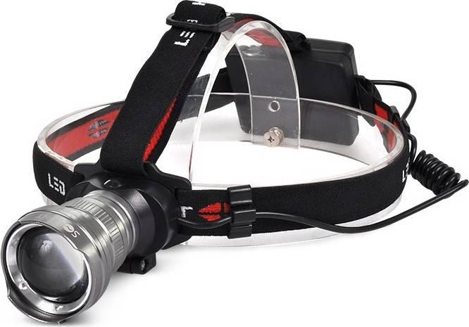 LED čelová svítilna, 300lm, Cree XPG R5, fokus, 3x AA WH21 Solight