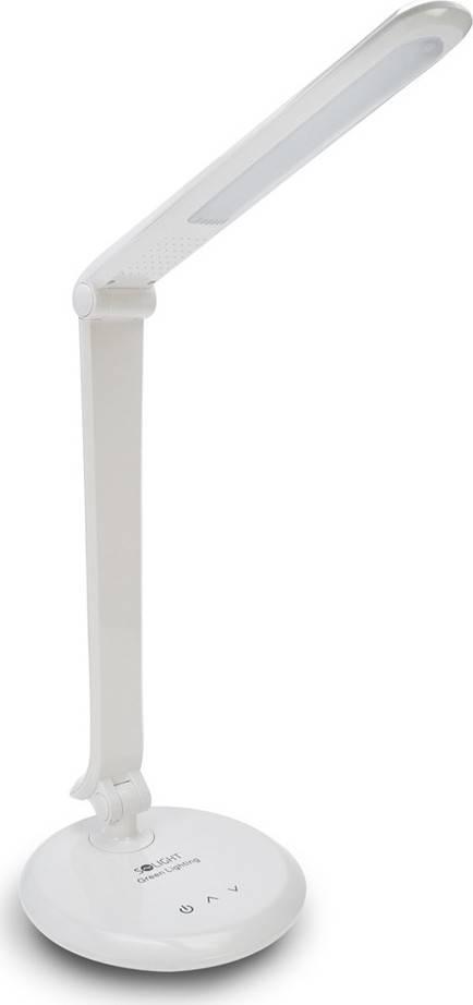 LED stolní lampička dotyková, 8W, plynulá regulace jasu, 5300K, bílá barva WO31-W Solight