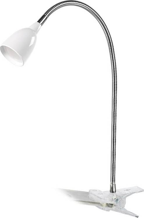 LED stolní lampička, 2.5W, 3000K, clip, bílá barva WO33-W Solight