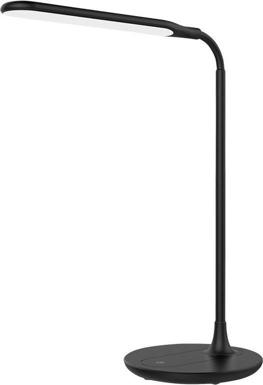 LED stolní lampička stmívatelná, 6W, 4500K, černá WO49-B Solight