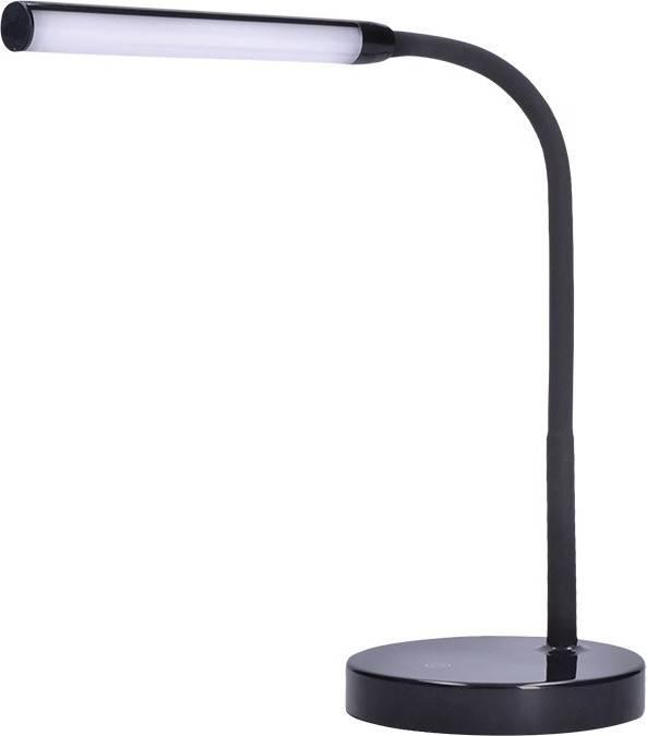 LED stolní lampička, 4W, stmívatelná, 4200K, černá barva WO52-B Solight