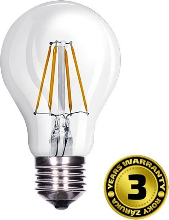 LED žárovka Solight WZ501A, 8W, 810lm, 3000K, teplá bílá, čirá