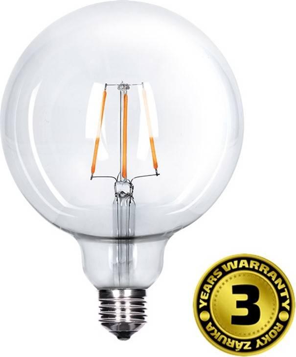 Žárovka LED WZ523 E27, 230V, 8W, 810lm, teplá bílá, Globe retro WZ523 Solight
