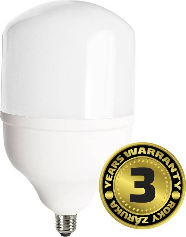 SOLIGHT LED žárovka 45W E27, T140, studená bílá