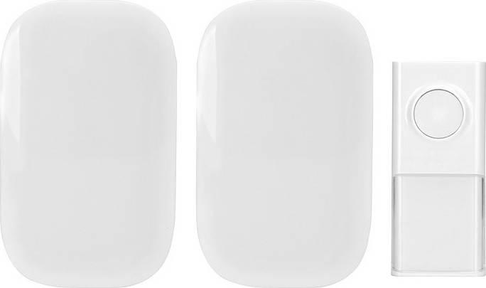 2x bezdrátový zvonek, do zásuvky, 150m, bílý 1L44 Solight