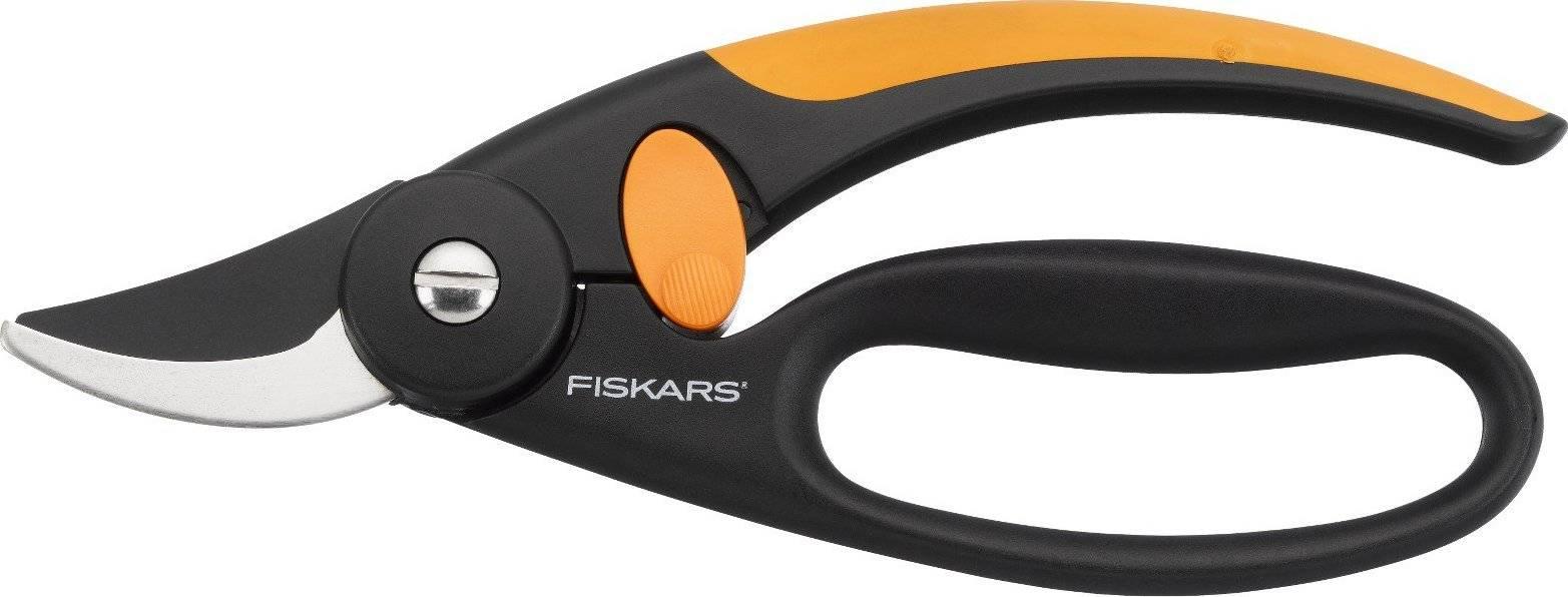 Nůžky Fingerloop zahradní s chráničem prstů dvoučepelové 1001534 Fiskars
