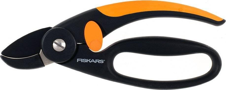 Nůžky Fingerloop zahradní s chráničem prstů jednočepelové 1001535 Fiskars