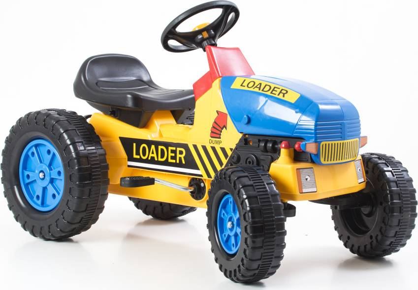 Hračka Šlapací traktor Classic žluto/modrý 690811 G21