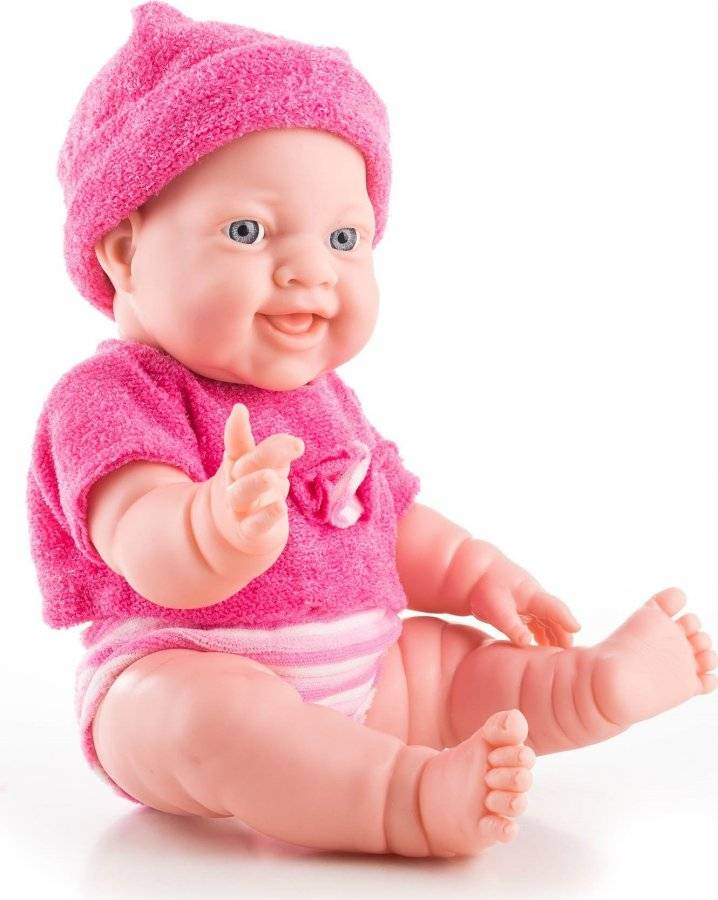 Hračka Panenka Helen 35 cm, tmavě růžové doplňky 60026076 G21