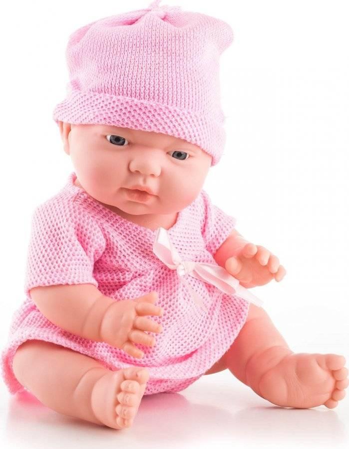 Hračka Panenka Nina 28 cm, růžové doplňky 60026082 G21
