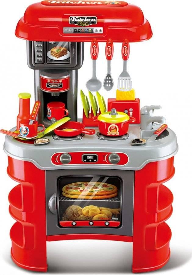 Hračka Dětská kuchyňka Seba červená 60026114 G21