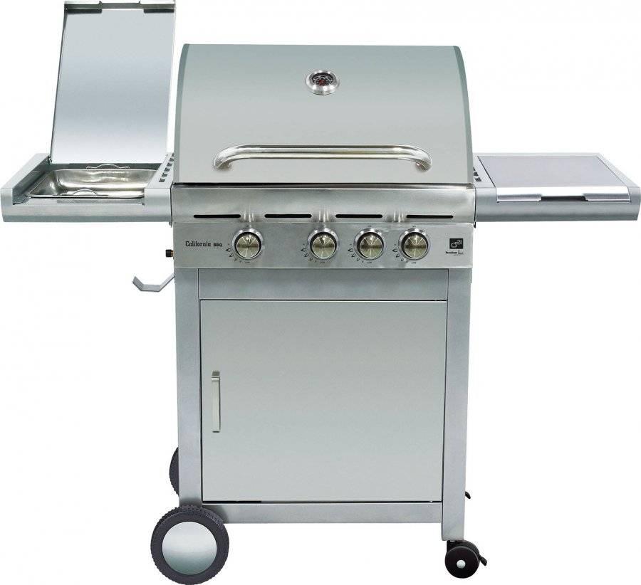 Plynový gril California BBQ Premium line 4 hořáky + zdarma redukční ventil 6390305 G21