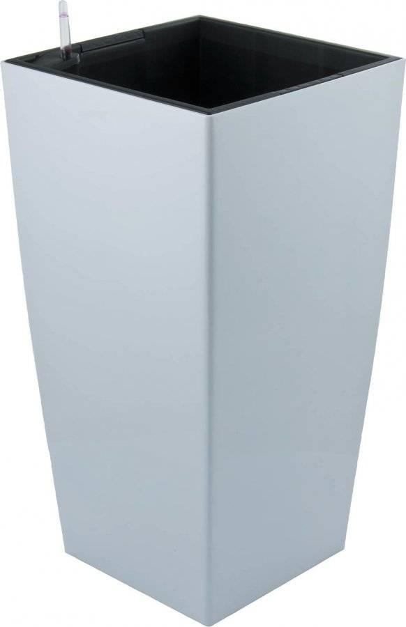 Samozavlažovací květináč Linea bílý 76 cm 6392430 G21