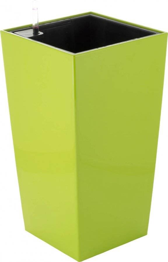 Samozavlažovací květináč Linea small zelený 55 cm 6392442 G21
