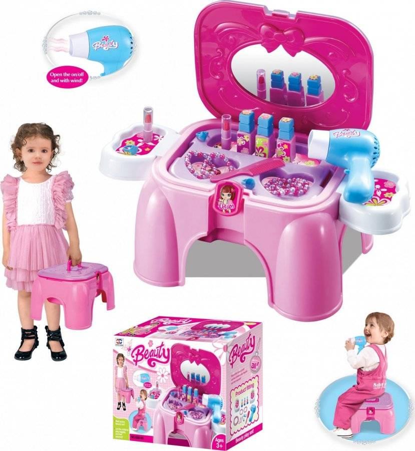 Hračka Kosmetický stolek malý s příslušenstvím, sedátko 690954 G21