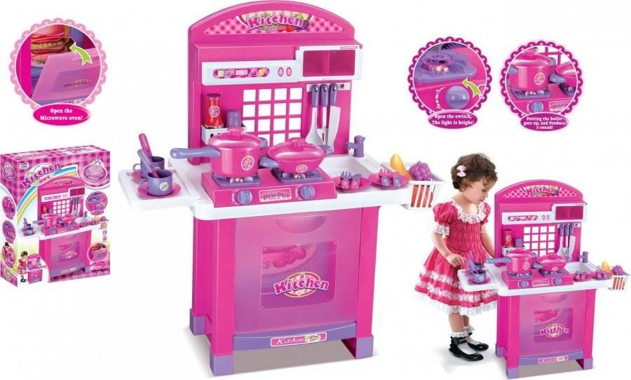 Hračka Dětská kuchyňka Superior s příslušenstvím růžová 690957 G21