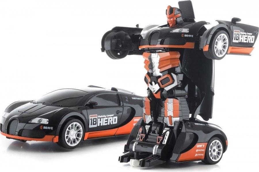 Hračka R/C robot Black Hero 690971 G21