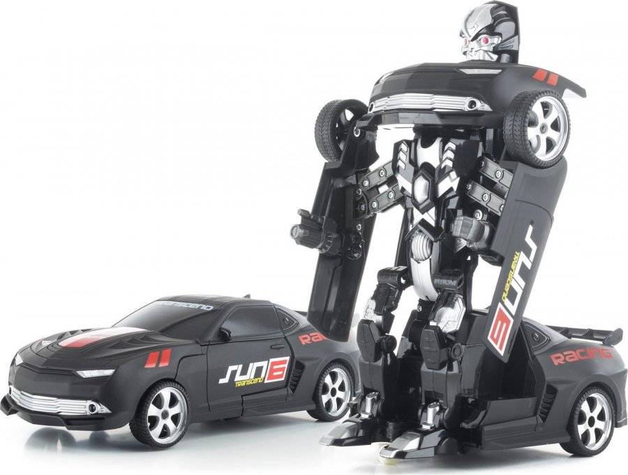 Hračka R/C robot Black Metal 690974 G21