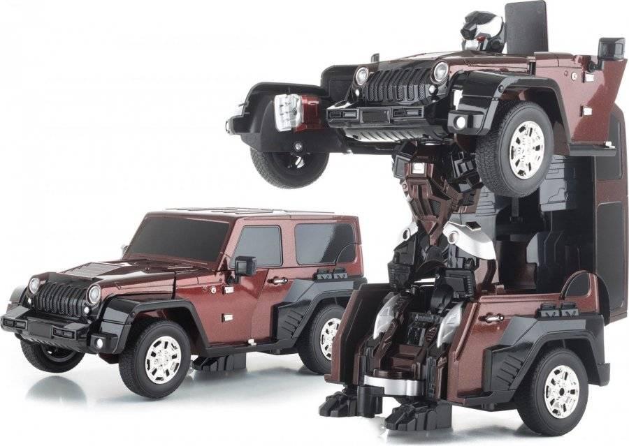 Hračka R/C robot Brown Alien 690979 G21