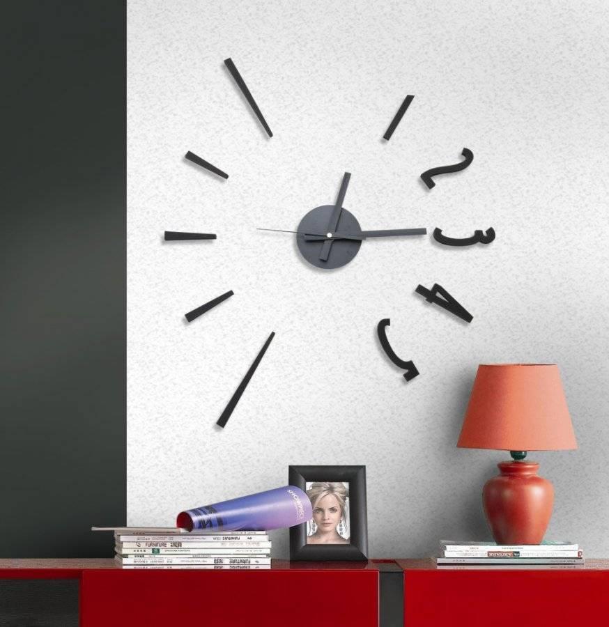 Samolepící hodiny Fashion Style 782129 G21