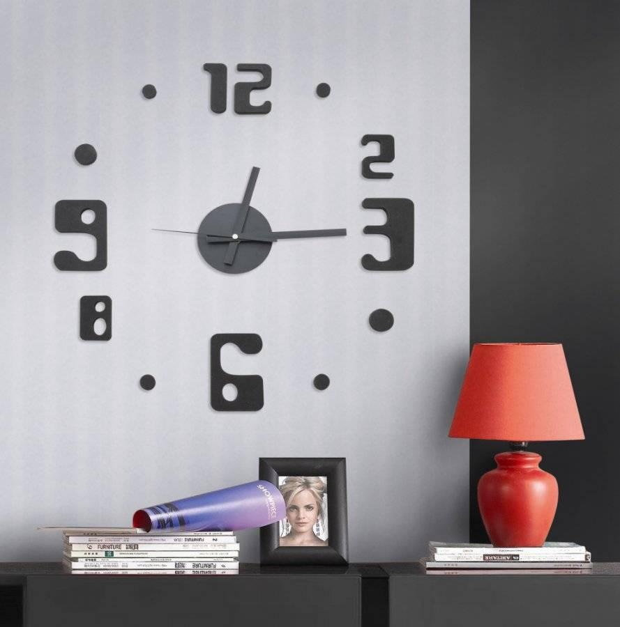 Samolepící hodiny Eccentric Style 782130 G21