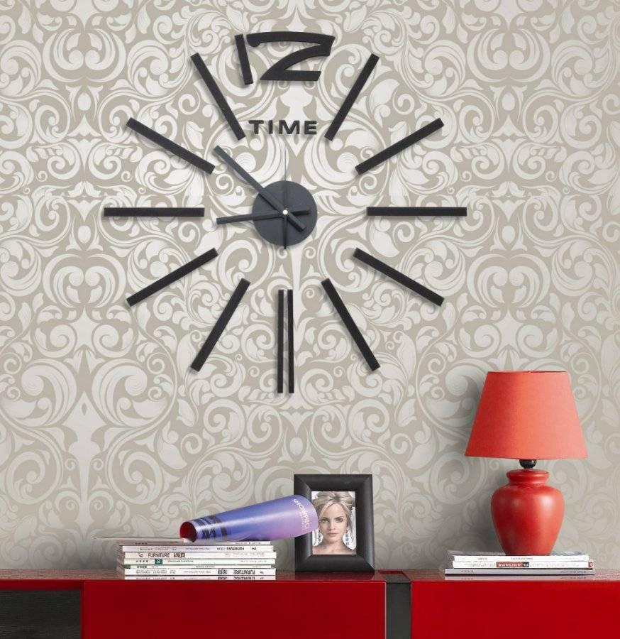Samolepící hodiny Elegant Style 782131 G21