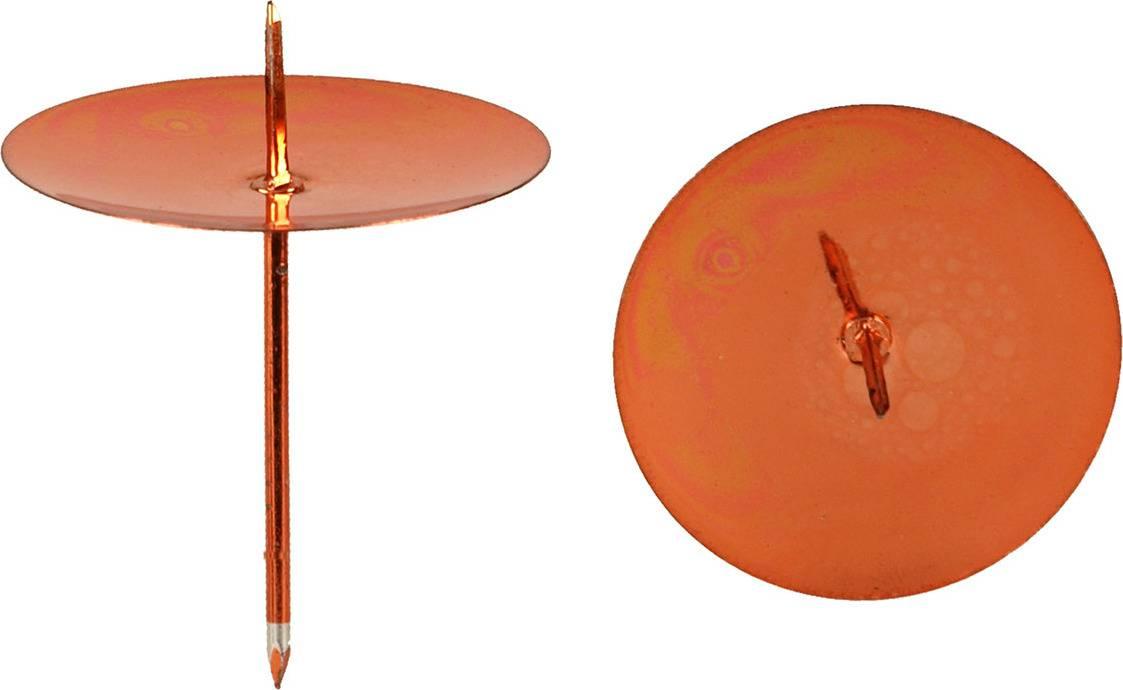 Kovový bodec - zápich, Sada 4ks, barva červená CP6195-3-S4-CERVENA Art