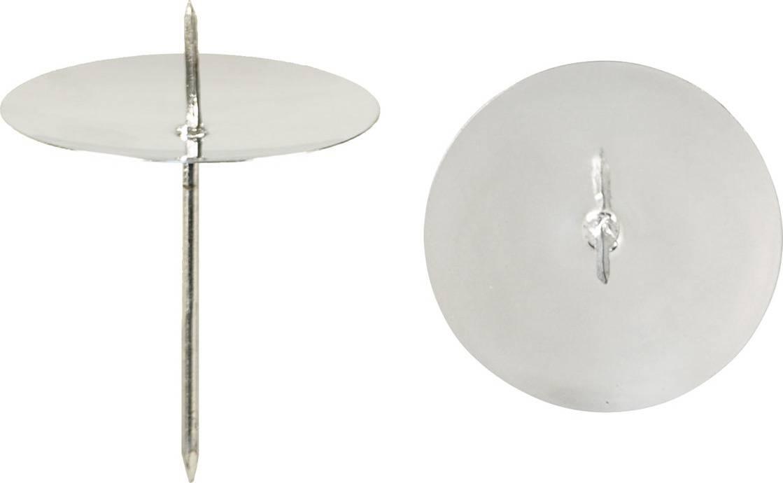 Kovový bodec - zápich, Sada 4ks, barva stříbrná CP6195-3-S4-STRIBRNA Art