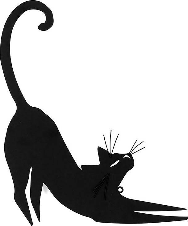 Nástěnný kovový obraz - kočka HO768256 Art