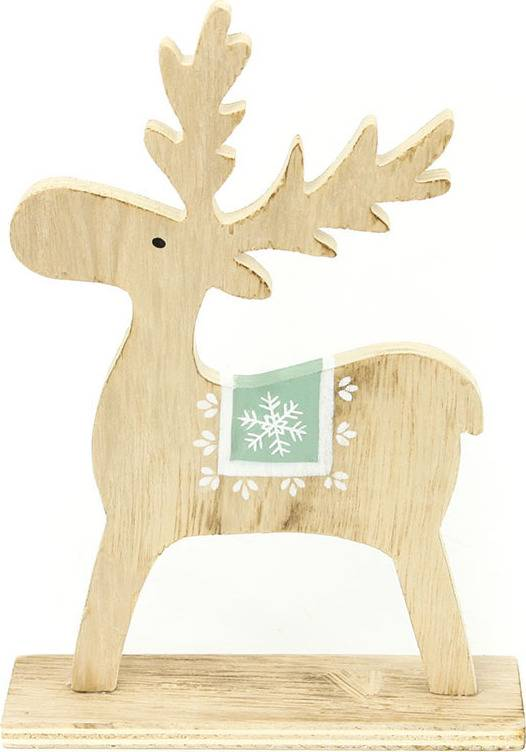 Sob, vánoční dřevěná dekorace KLA473 Art