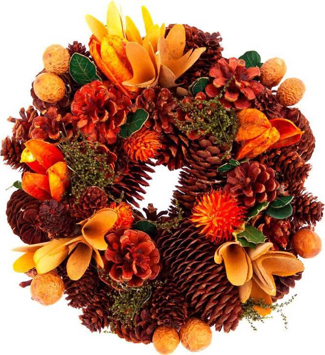 Věnec, podzimní dekorace PRZ3060 Art