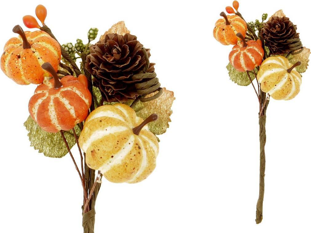 Větvička podzimní , umělá dekorace PRZ3145 Art