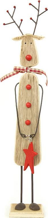 Sob, dřevěná vánoční dekorace ZA8634 Art