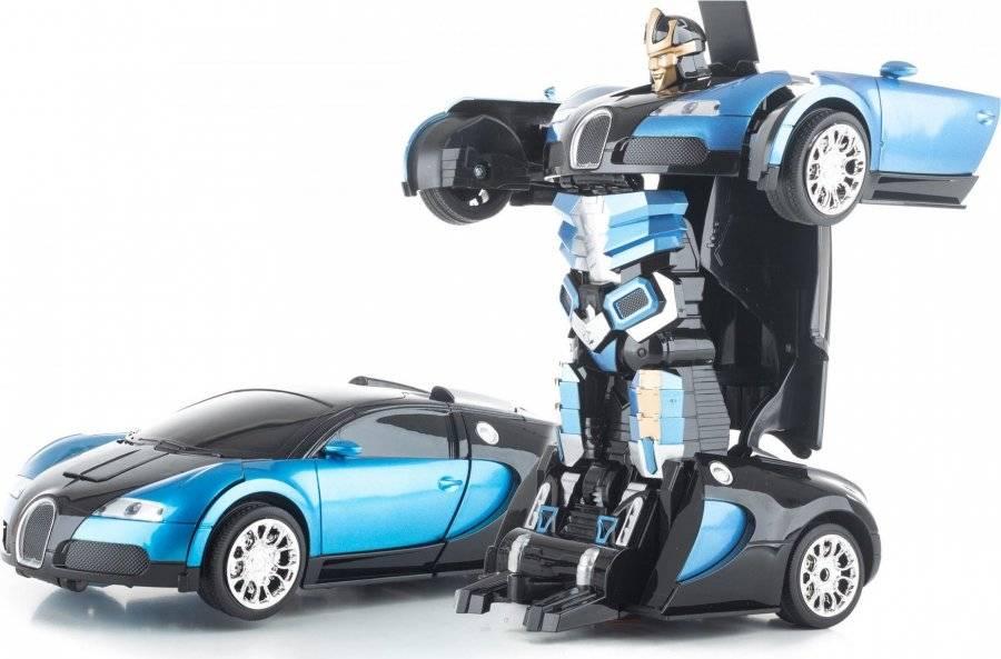 Hračka R/C robot Blue Stranger 690972 G21