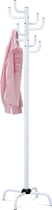 Věšák, v. 182 cm, vysoký lesk bílý 80609-A WT Art