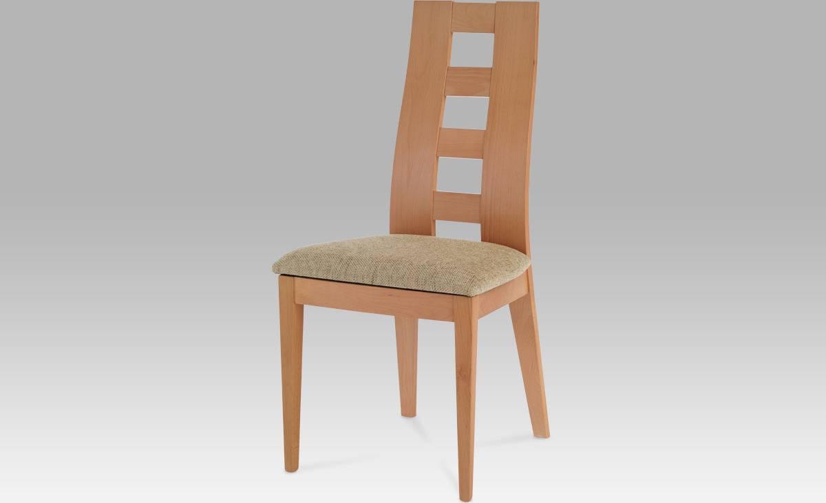 Jídelní židle BEZ SEDÁKU, barva buk BC-33904 BUK3 Art