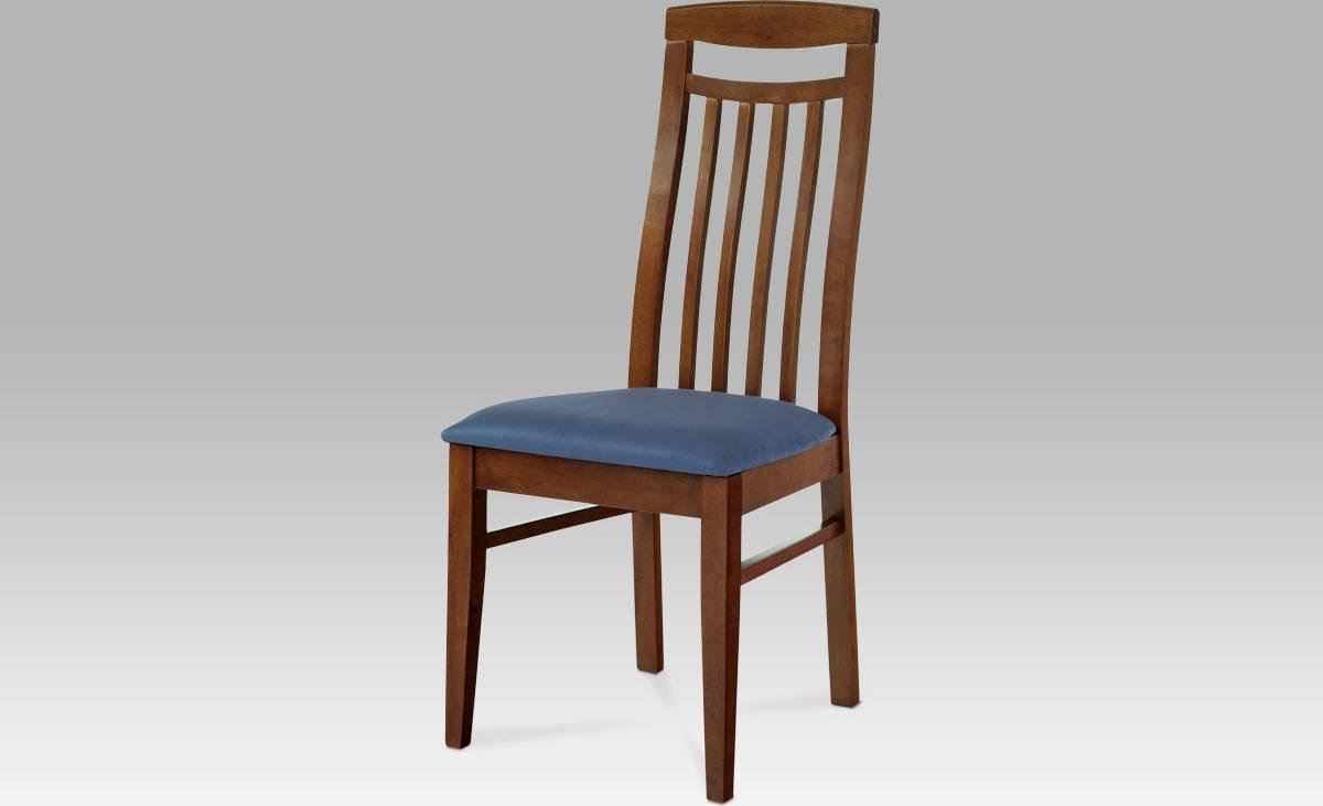 Jídelní židle BEZ SEDÁKU, barva hnědá BE810 BR Art