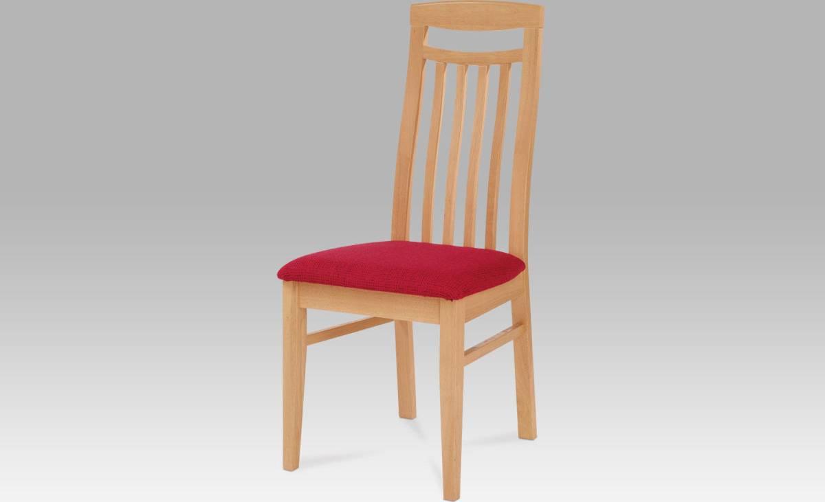 Jídelní židle BEZ SEDÁKU, barva buk BE810 BUK Art