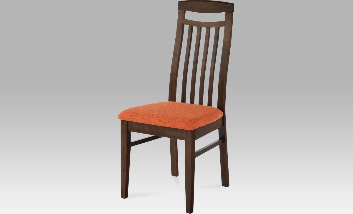 Židle BEZ SEDÁKU, barva ořech BE810 WAL Art