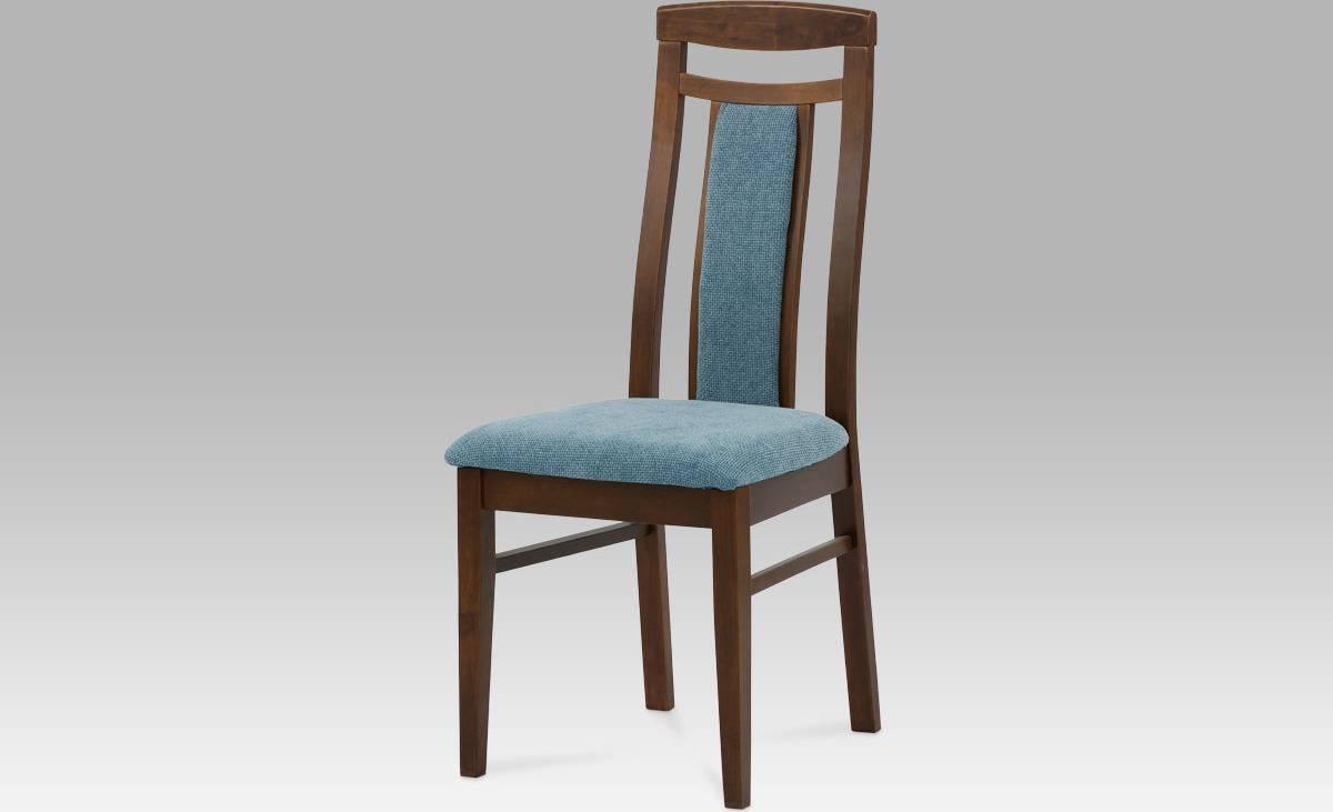 Židle BEZ SEDÁKU, barva ořech BE820 WAL Art